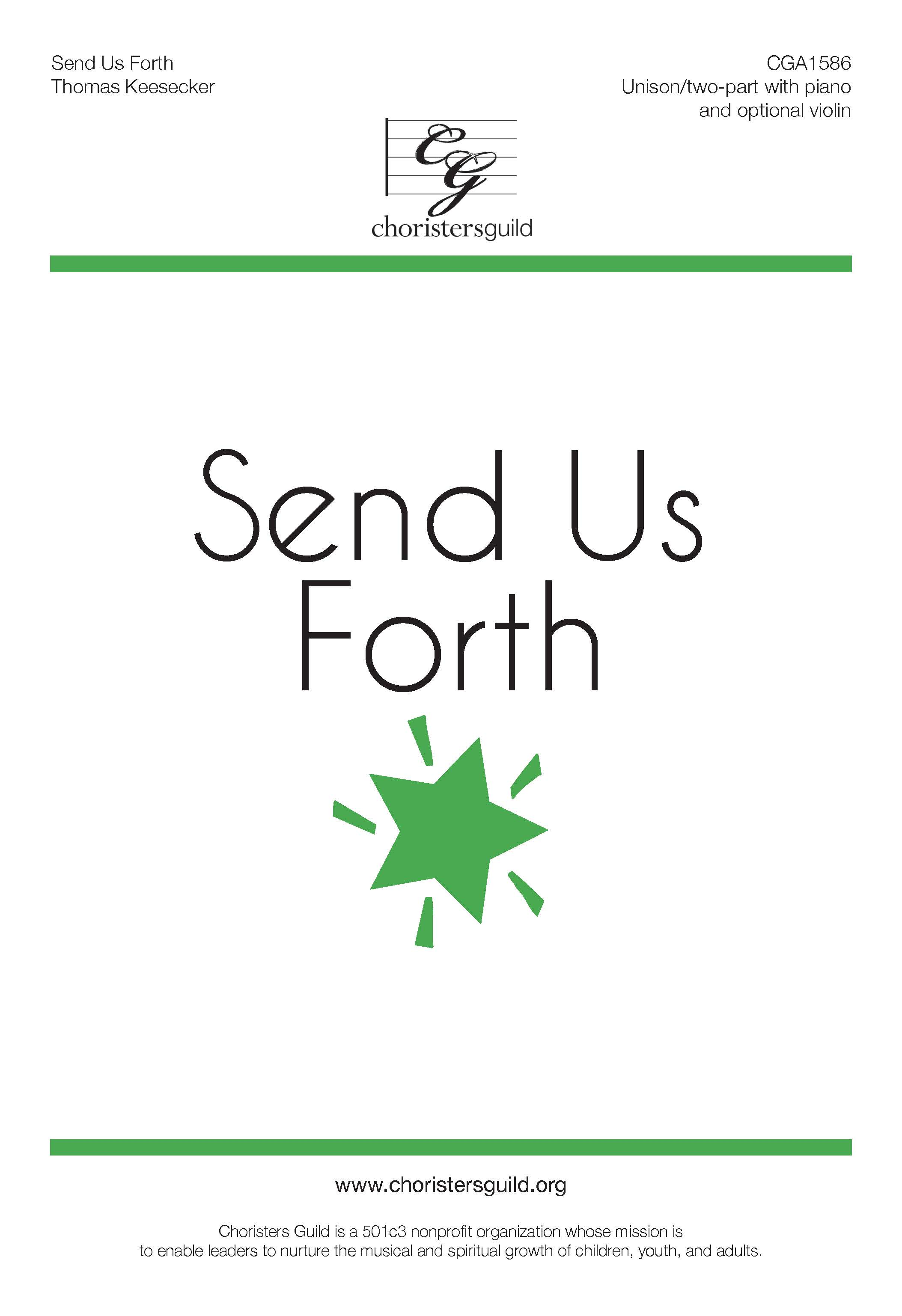Send Us Forth - Unison/Two-part