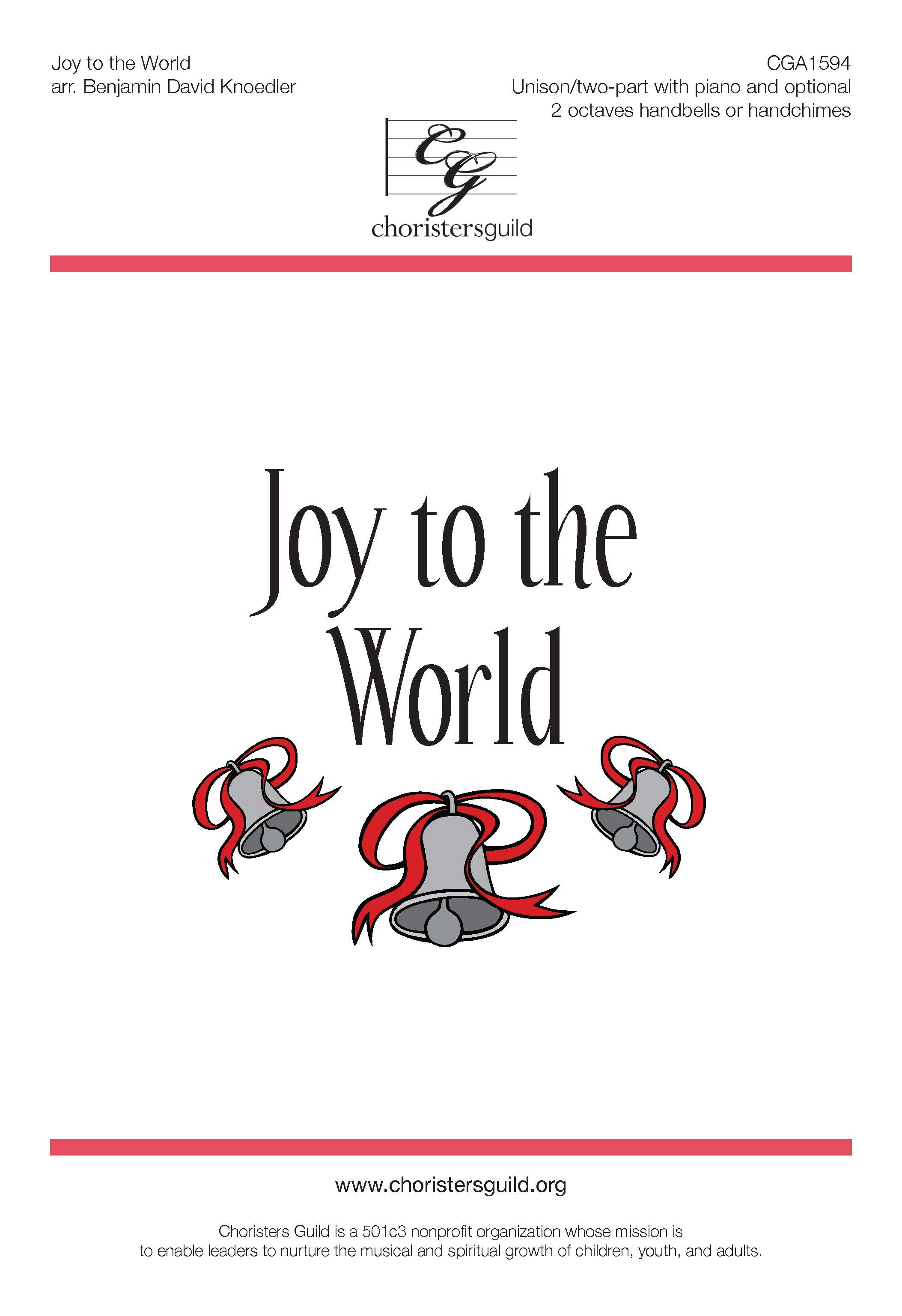 Joy to the World - Unison/Two-part