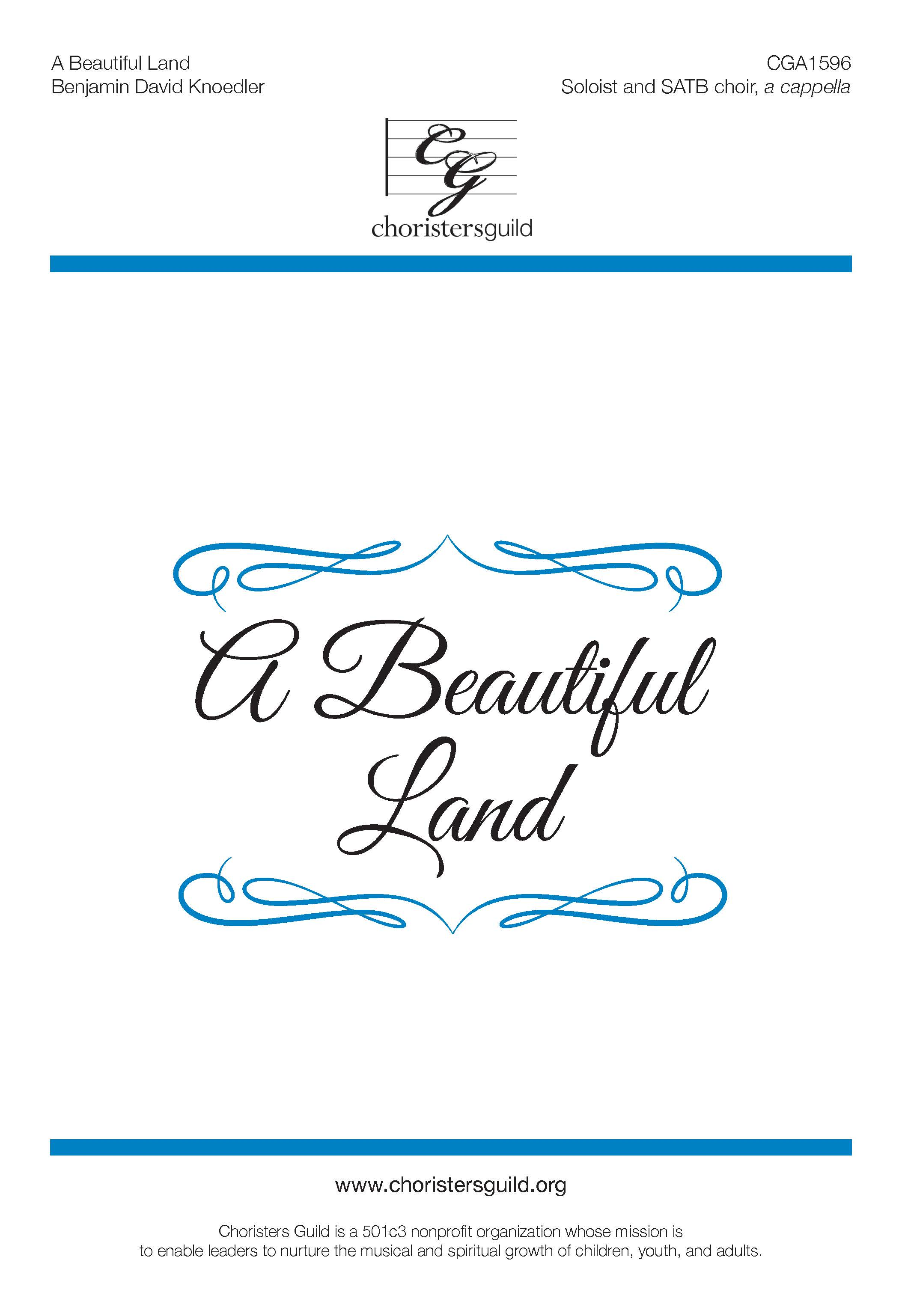 A Beautiful Land - SATB a cappella