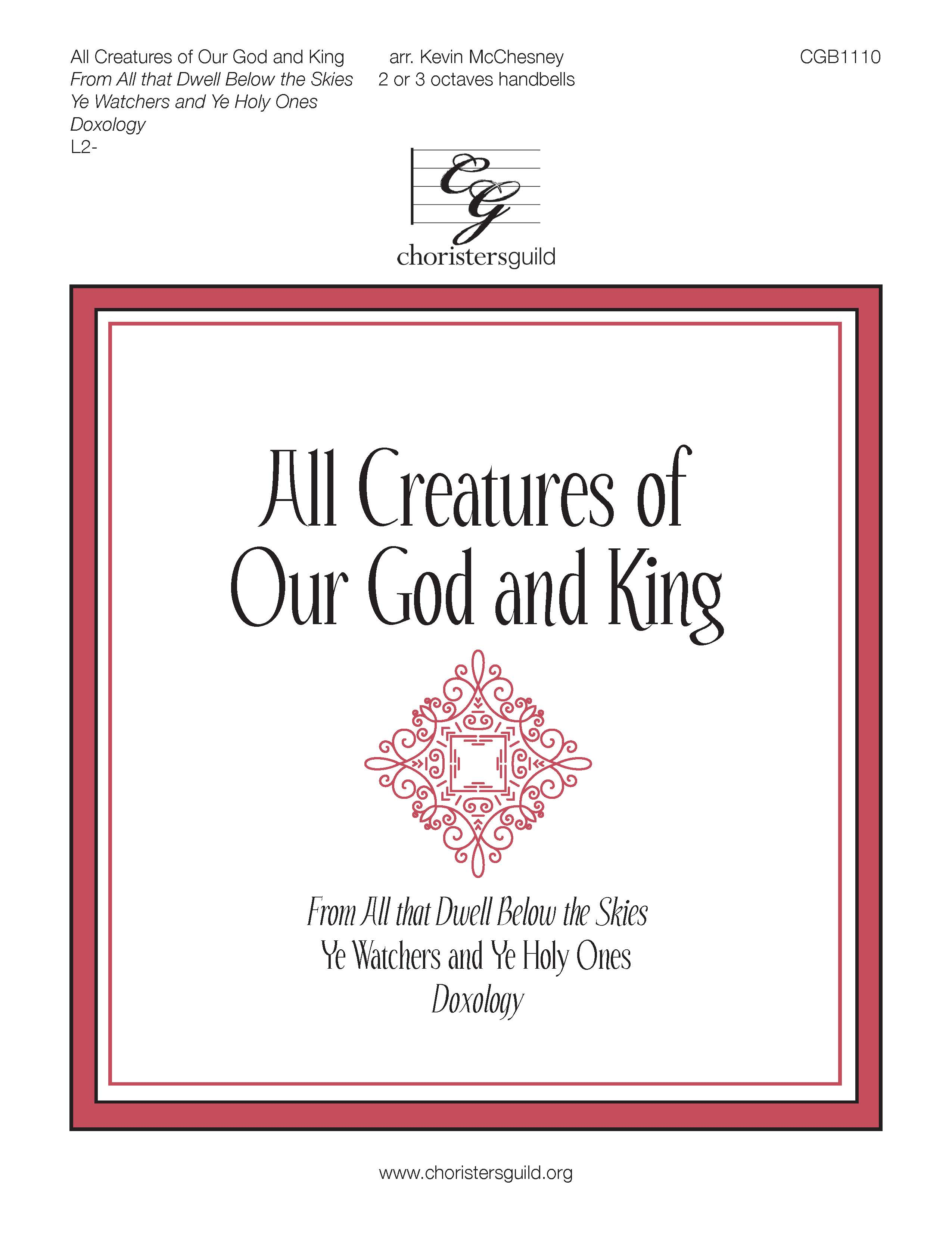 All Creatures of Our God and King - 2-3 octaves