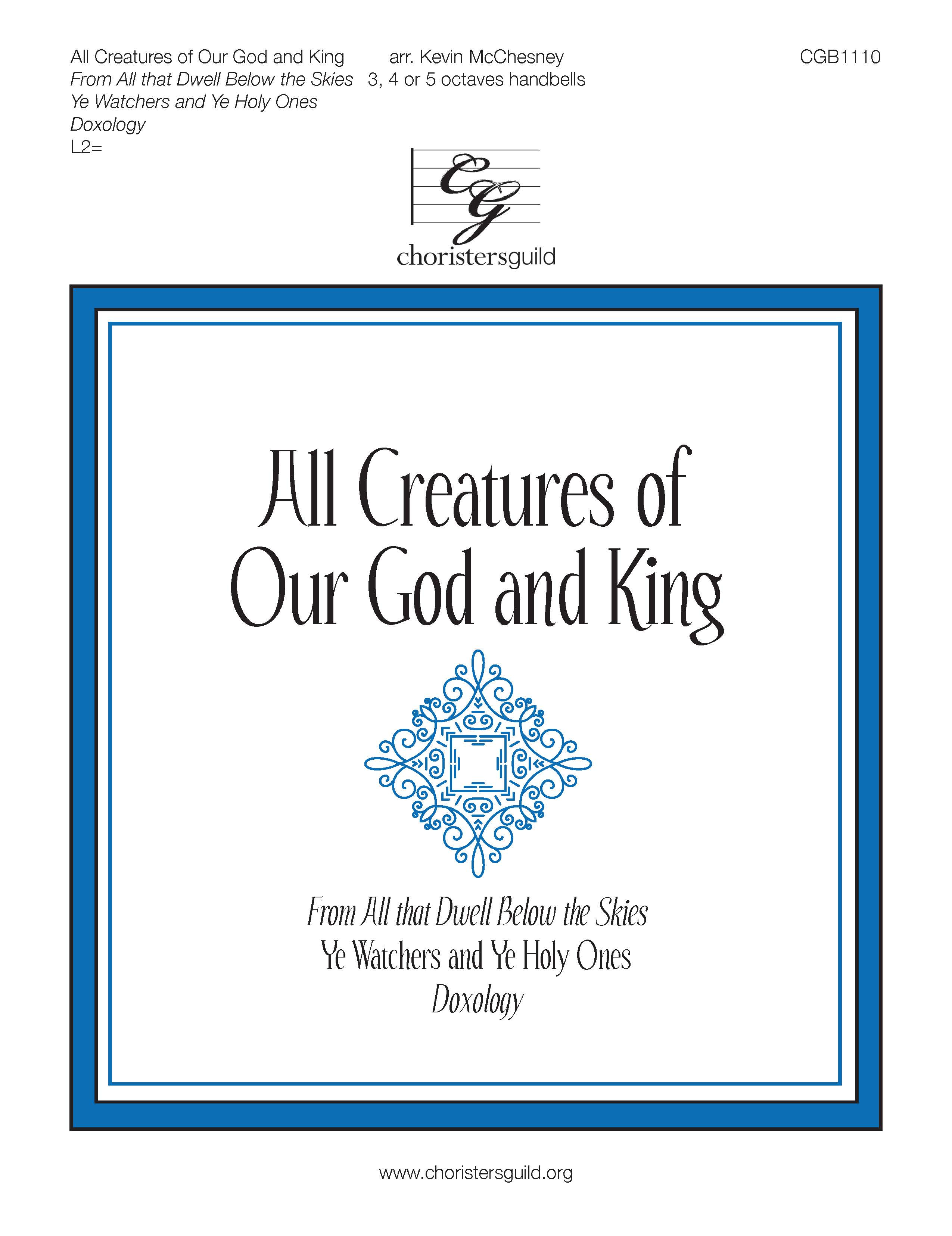 All Creatures of Our God and King - 3-5 octaves