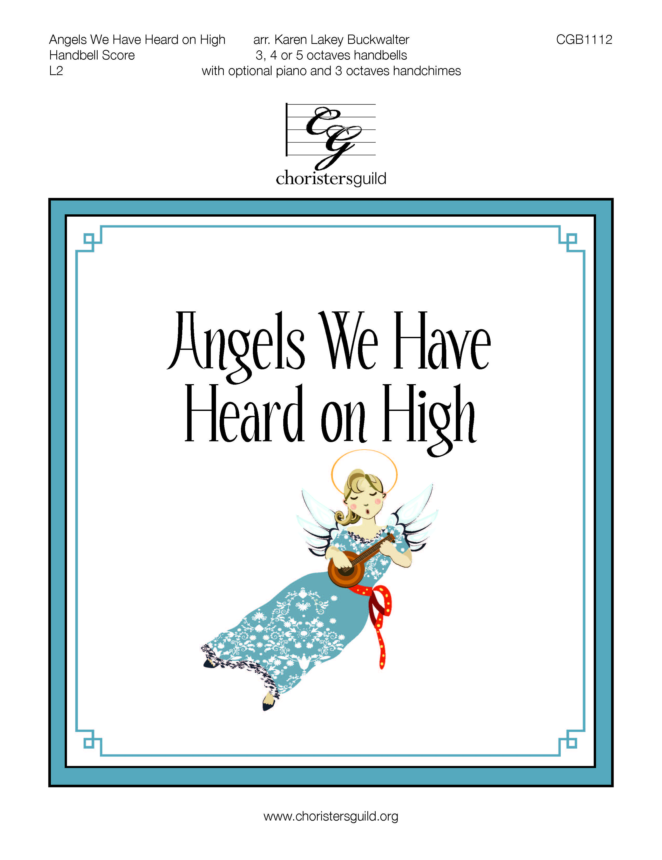 Angels We Have Heard on High - 3-5 octaves