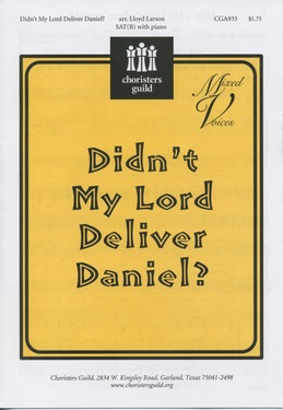 Didn't My Lord Deliver Daniel? (Audio Download)