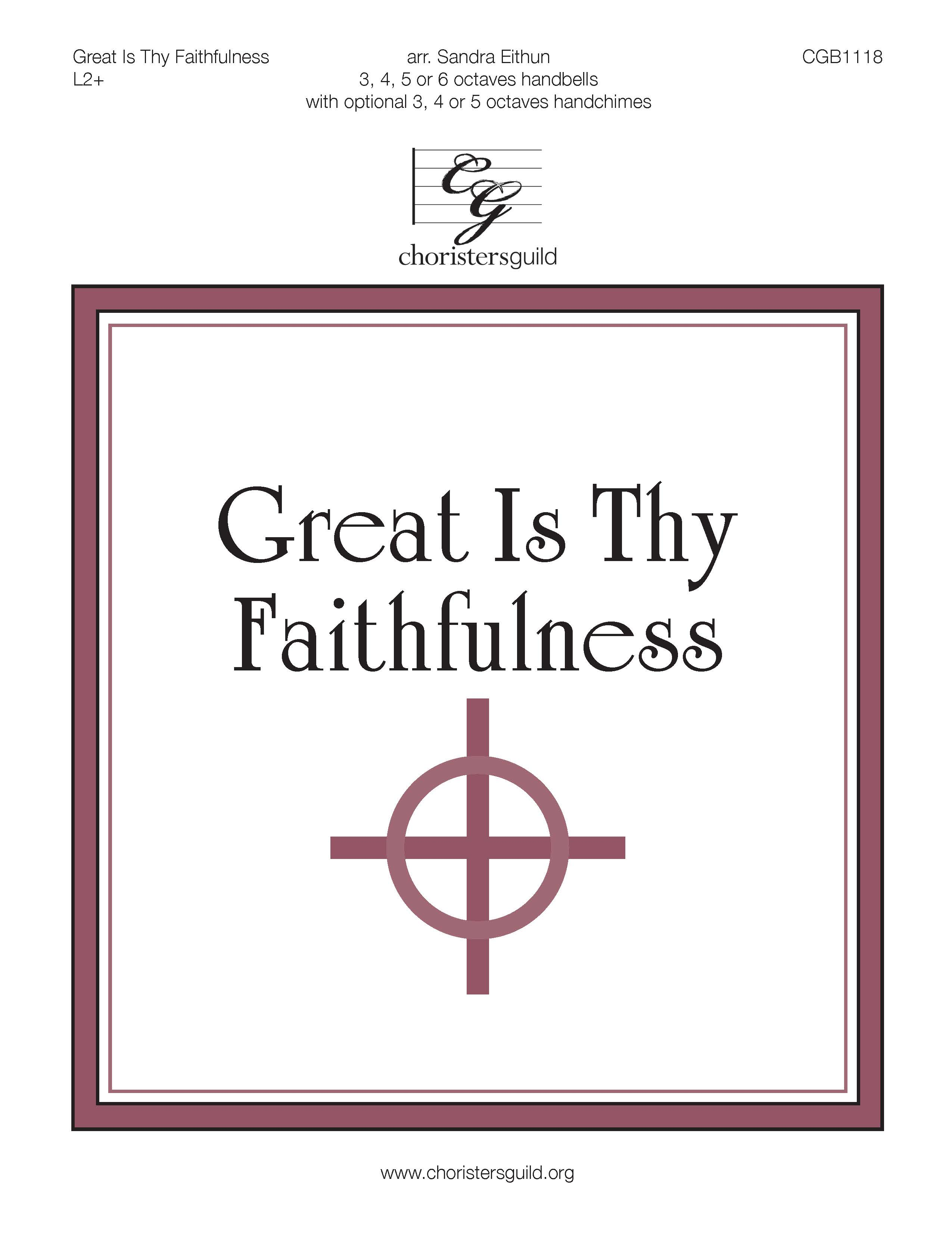 Great Is Thy Faithfulness - 3-6 octaves