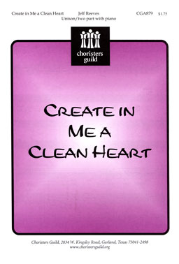 Create in Me a Clean Heart (Audio Download)