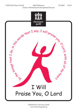 I Will Praise You, O Lord (Audio Download)
