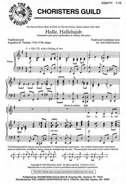 Halle, Hallelujah (Audio Download)