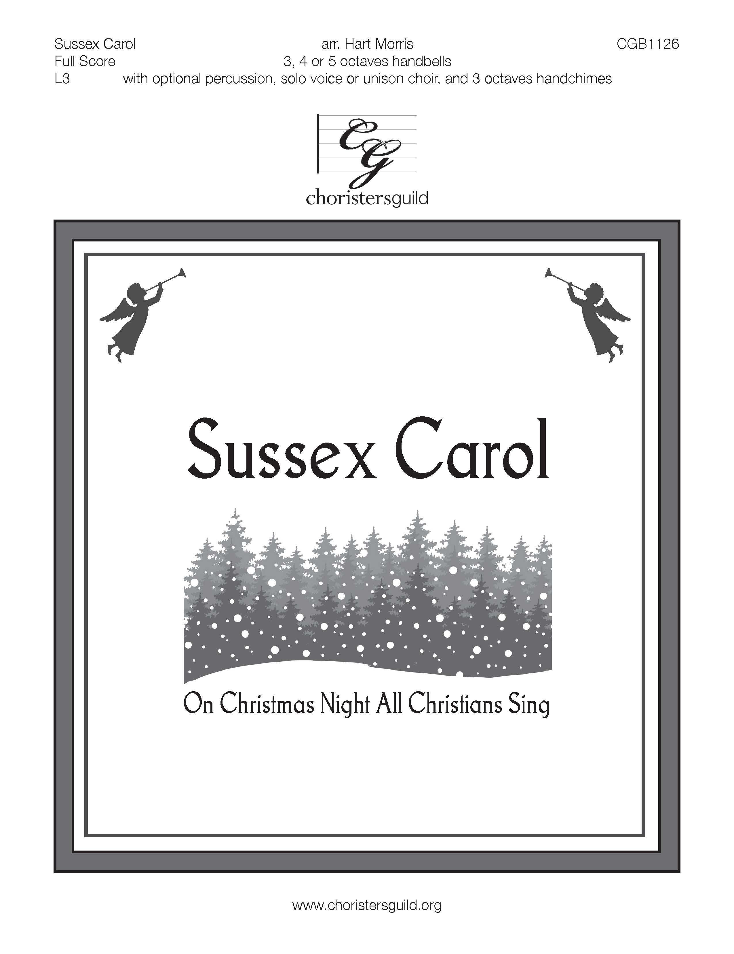 Sussex Carol - Full Score (includes percussion parts)