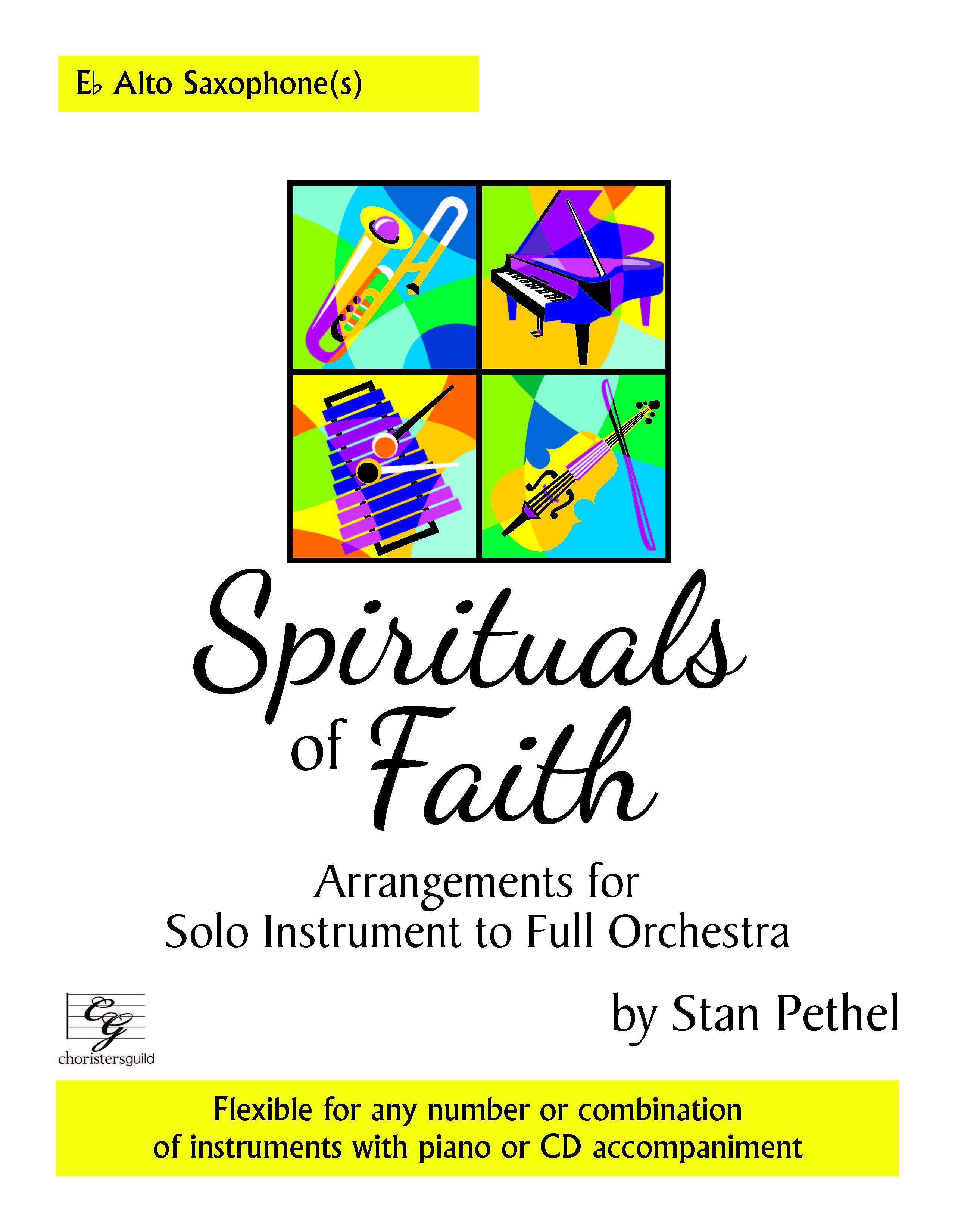 Spirituals of Faith - Eb Alto Saxophone