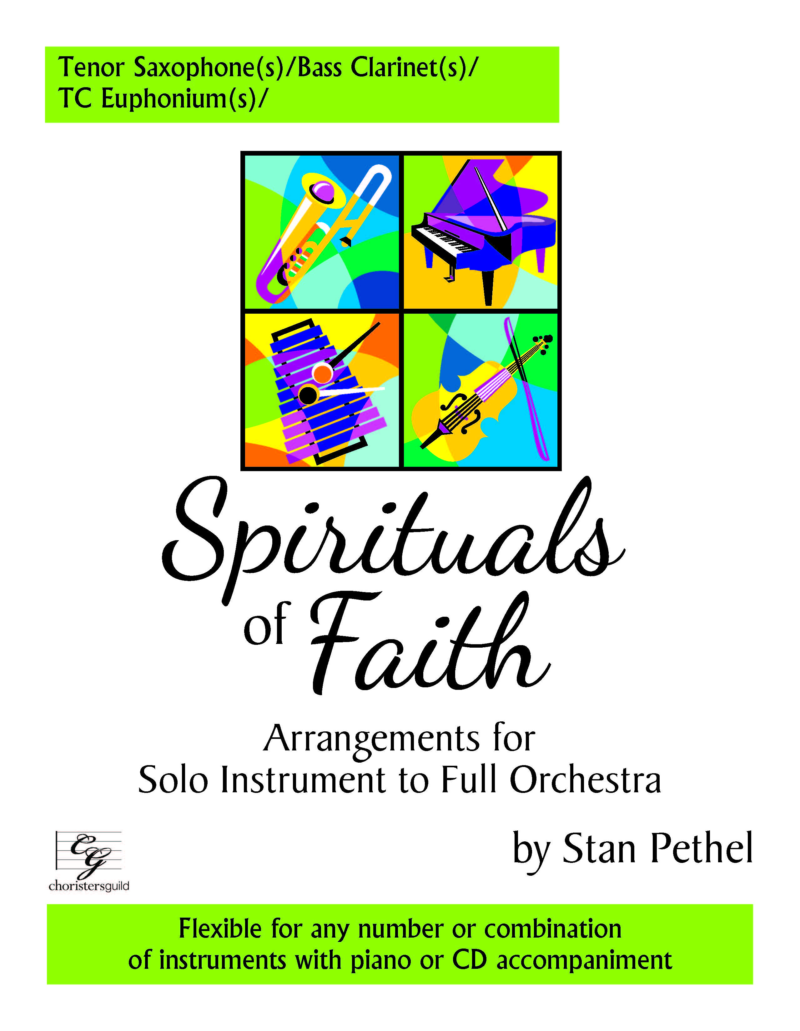 Spirituals of Faith - Tenor Saxophone/Bass Clarinet/TC Euphonium