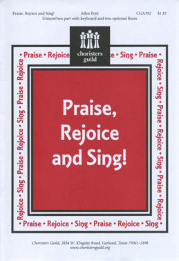 Praise, Rejoice and Sing! (Audio Download)