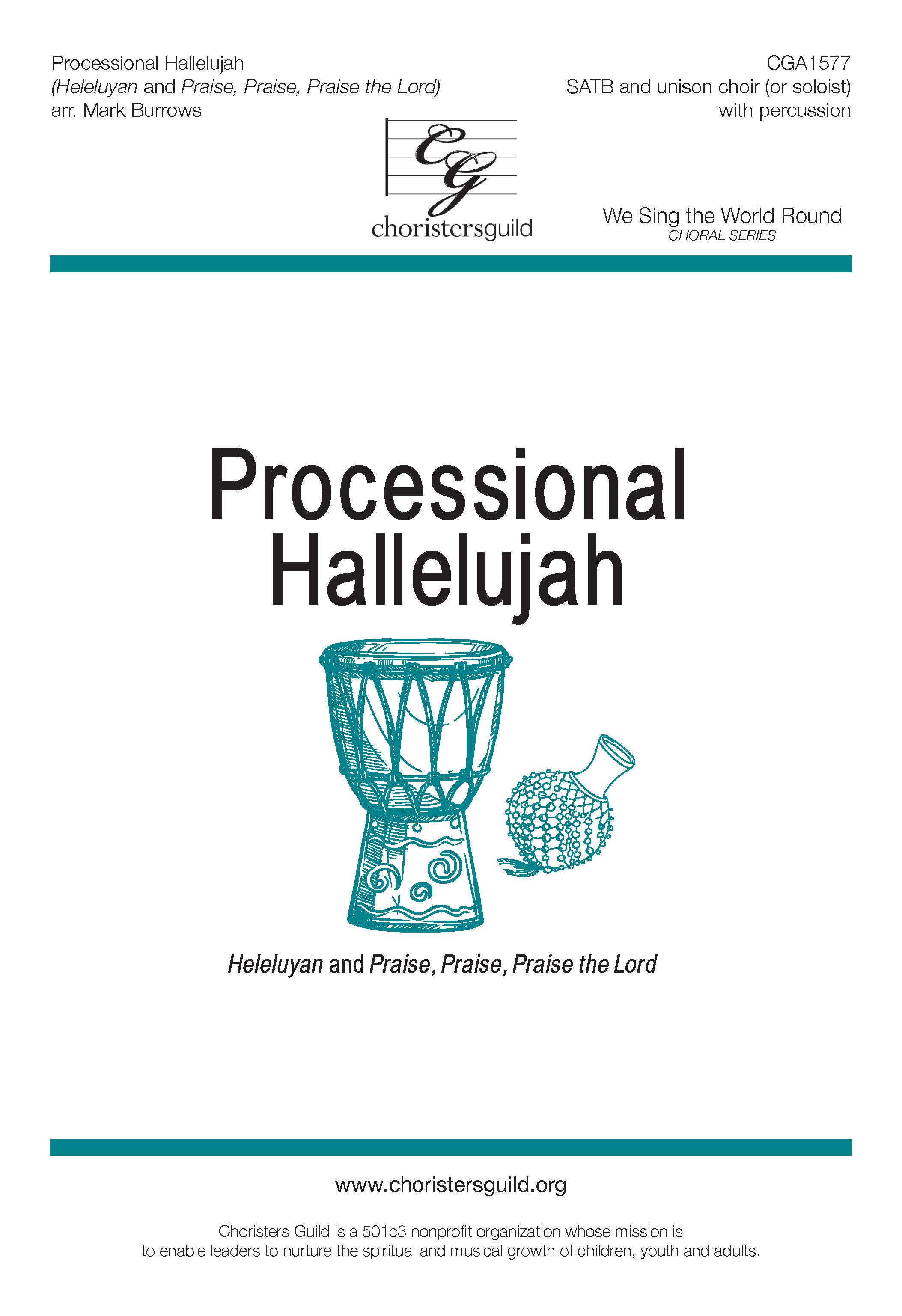 Processional Hallelujah (Accompaniment Track)
