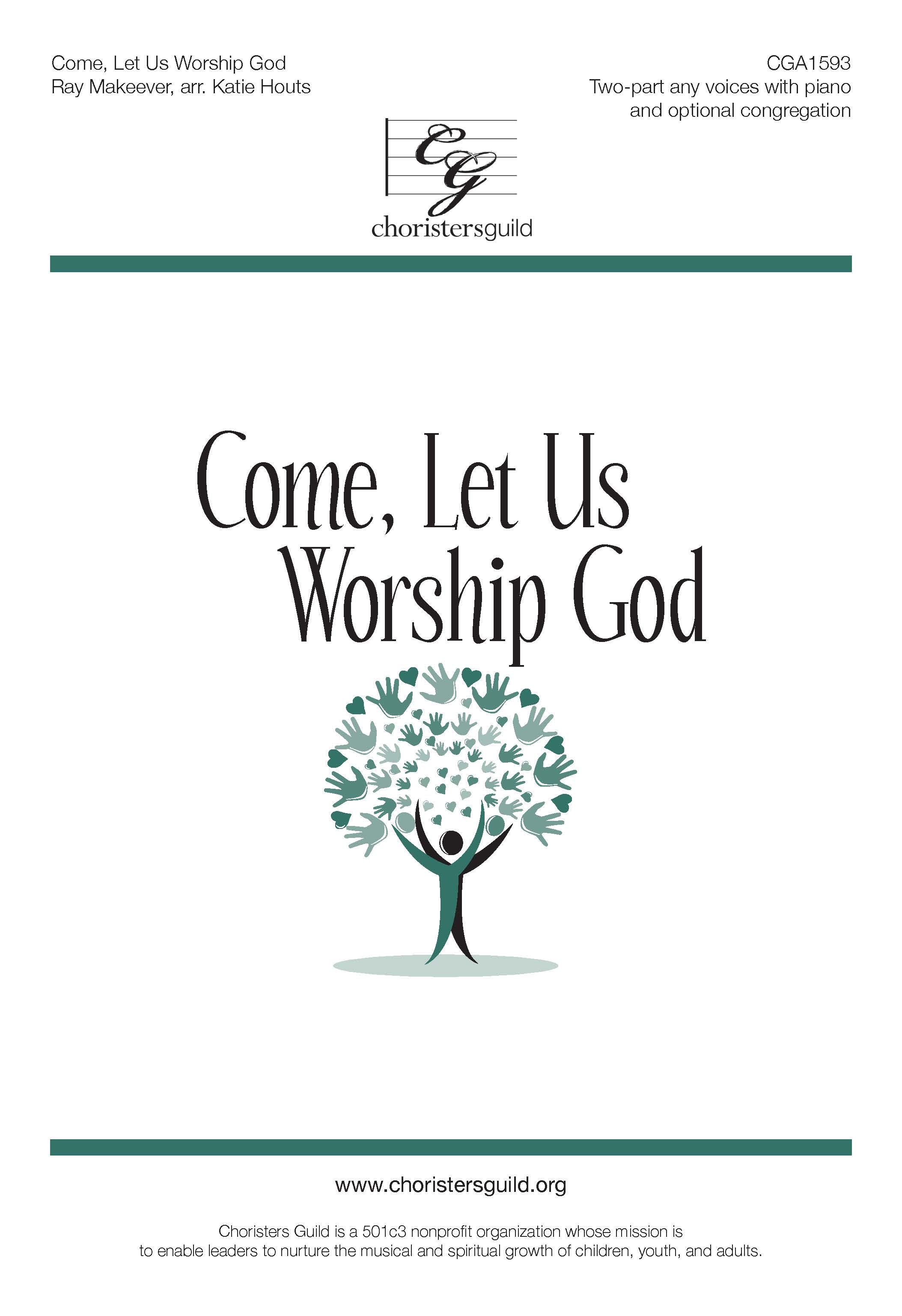 Come, Let Us Worship God (Accompaniment Track)
