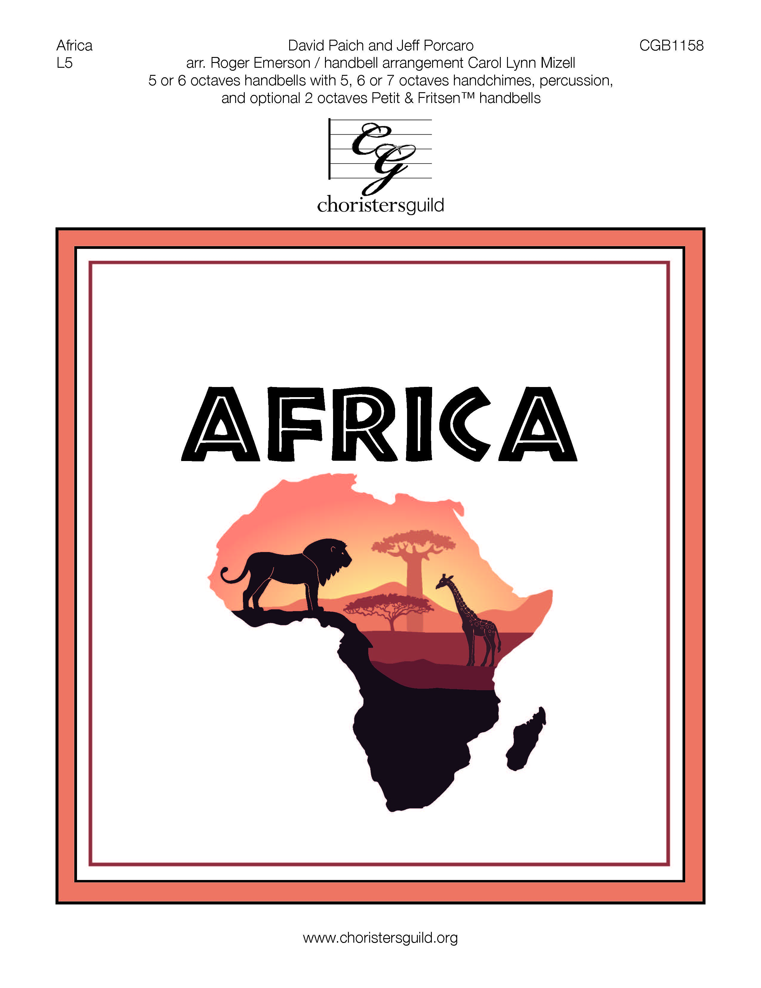 Africa - 5-7 octaves