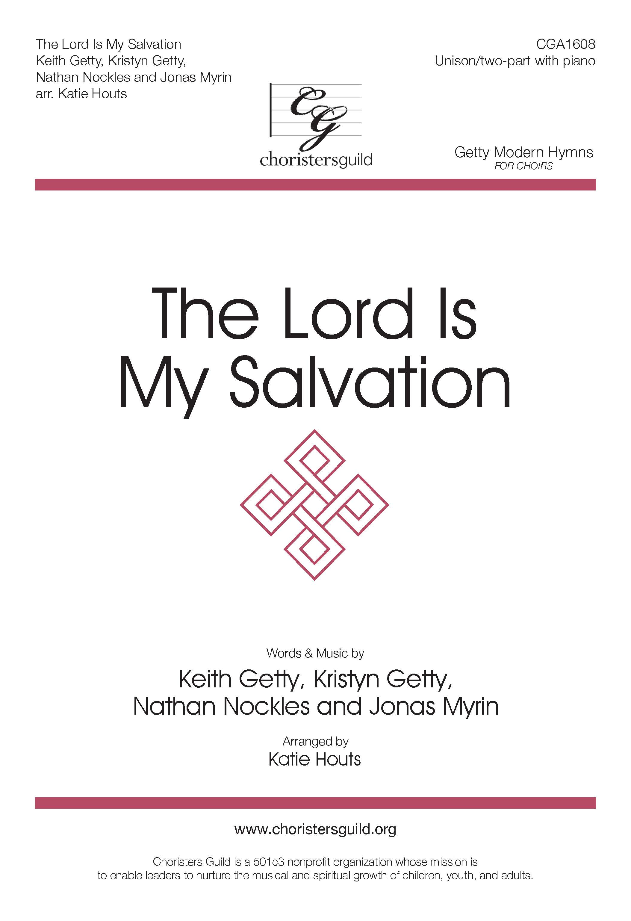 The Lord is My Salvation - Unison/Two-part