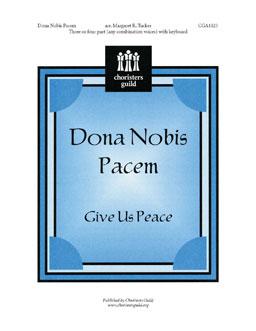 Dona Nobis Pacem (Accompaniment Track)