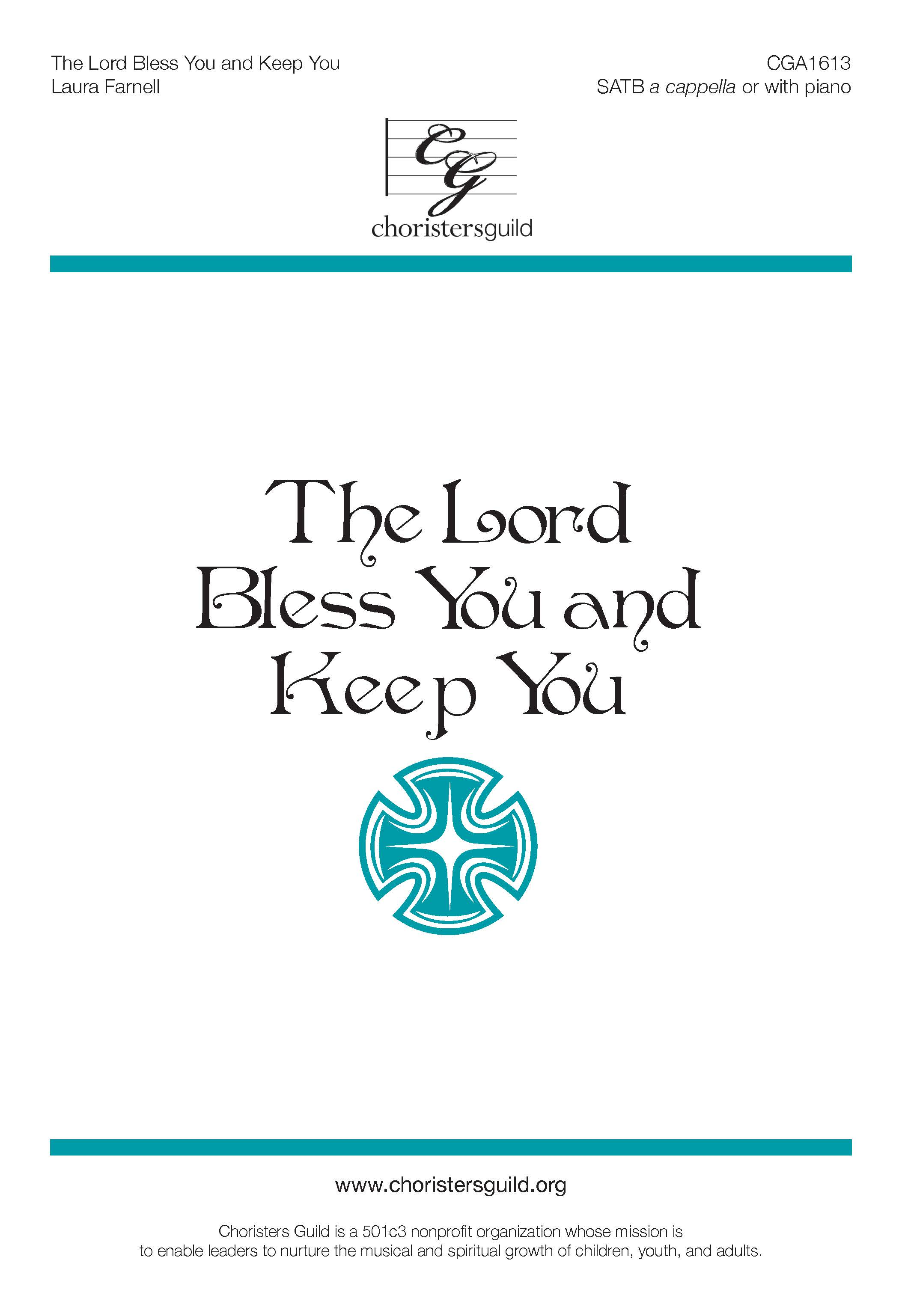 The Lord Bless You and Keep You - SATB