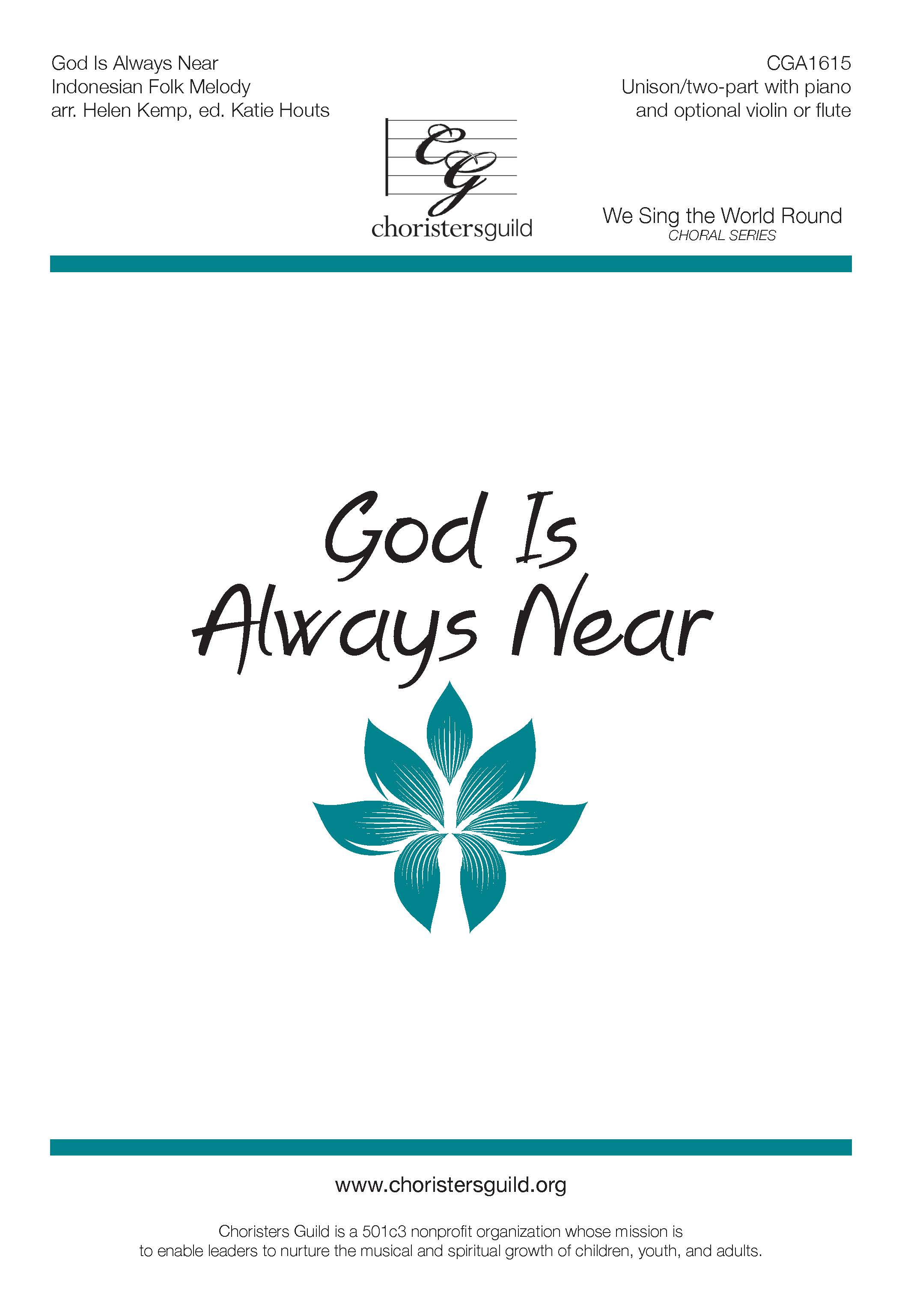 God is Always Near - Unison/Two-part