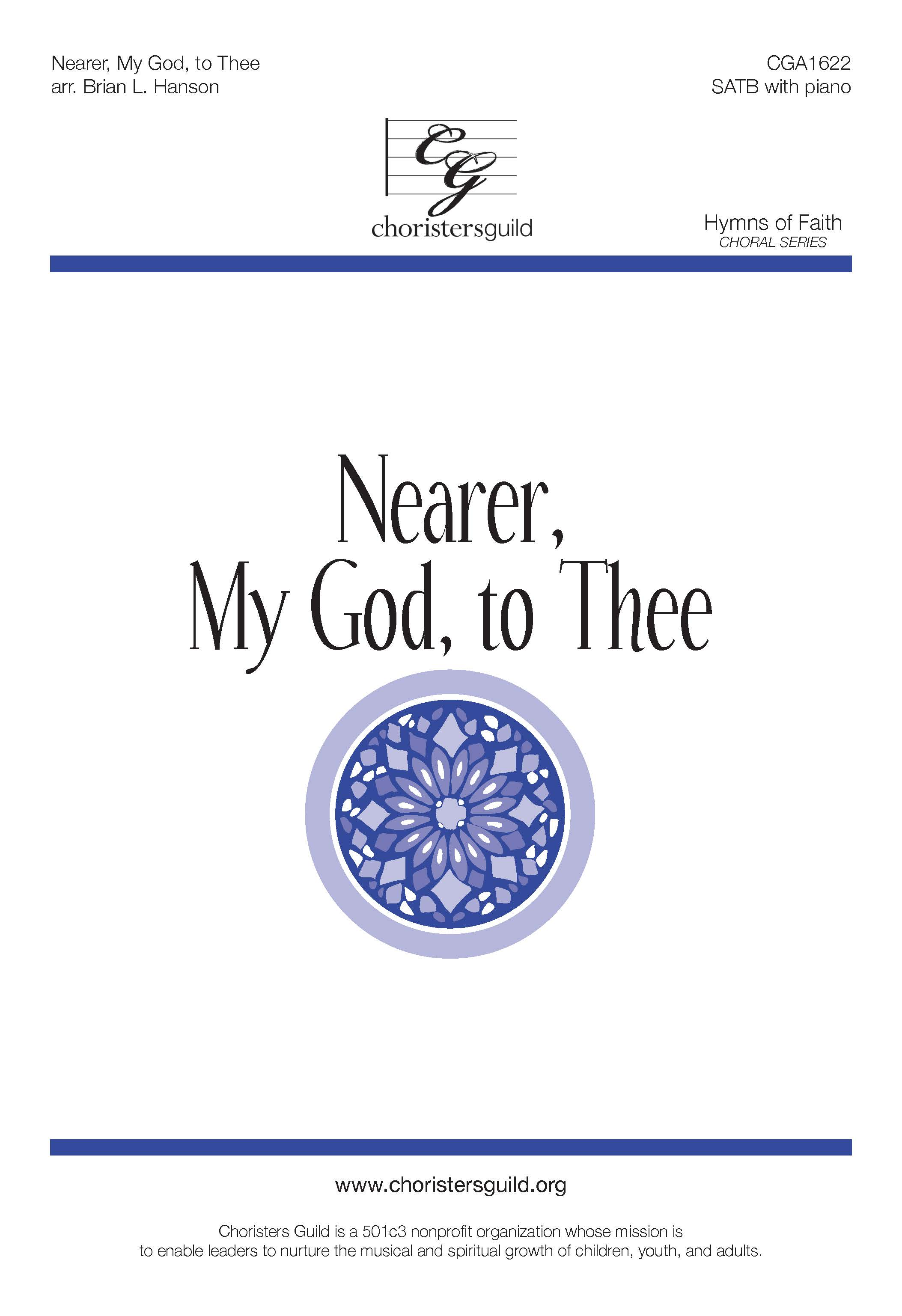 Nearer, My God, to Thee - SATB