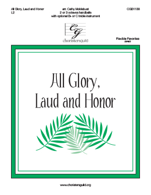 All Glory, Laud and Honor - 2-3 octaves