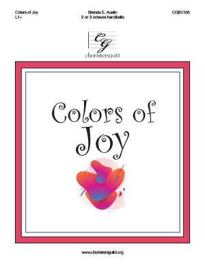 Colors of Joy - 2-3 octaves