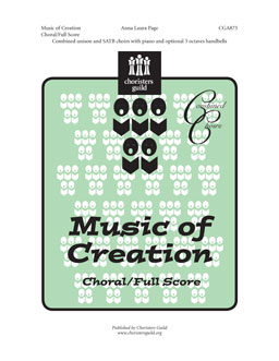 Music of Creation Choral Full Score