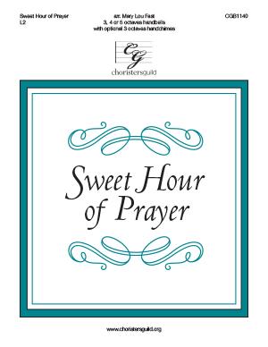 Sweet Hour of Prayer - 3-5 octaves