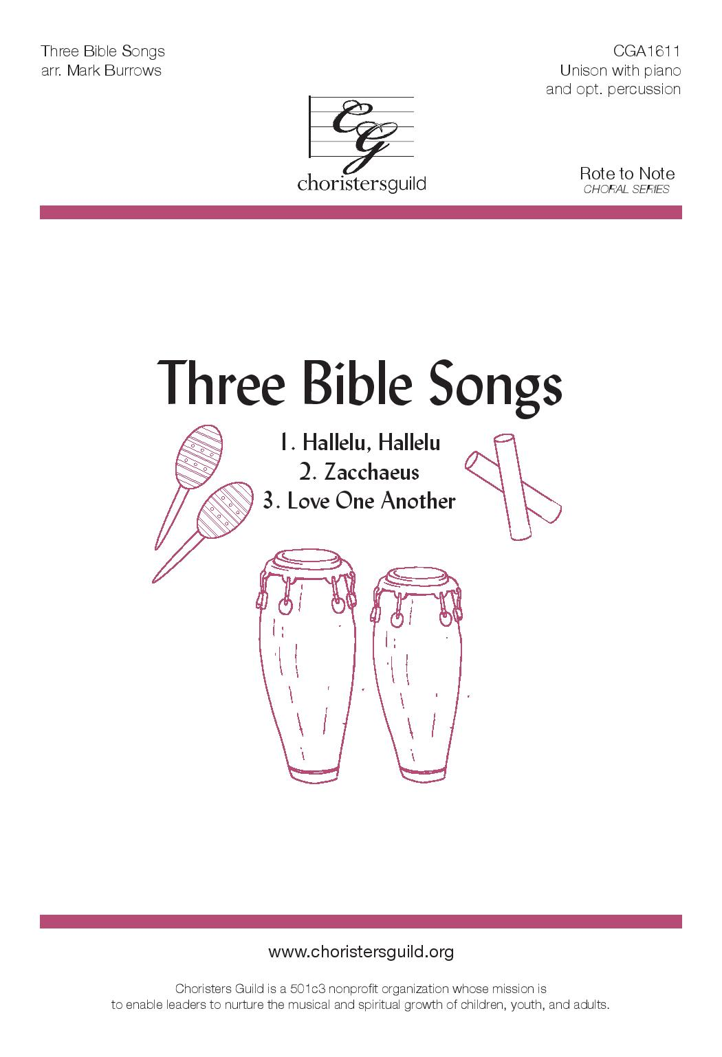 Three Bible Songs (Accompaniment Track)