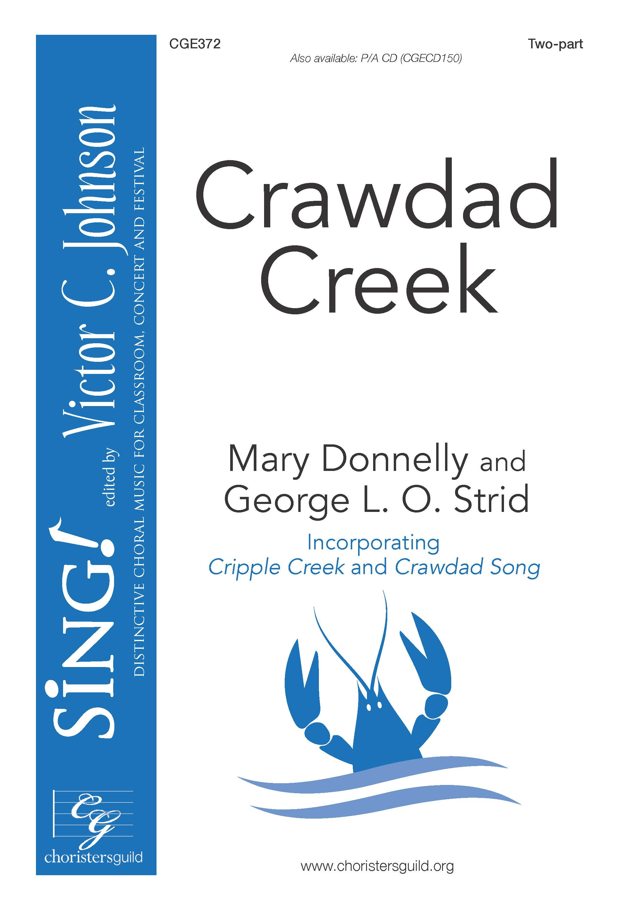 Crawdad Creek - Two-part with Opt. Violin (Fiddle)