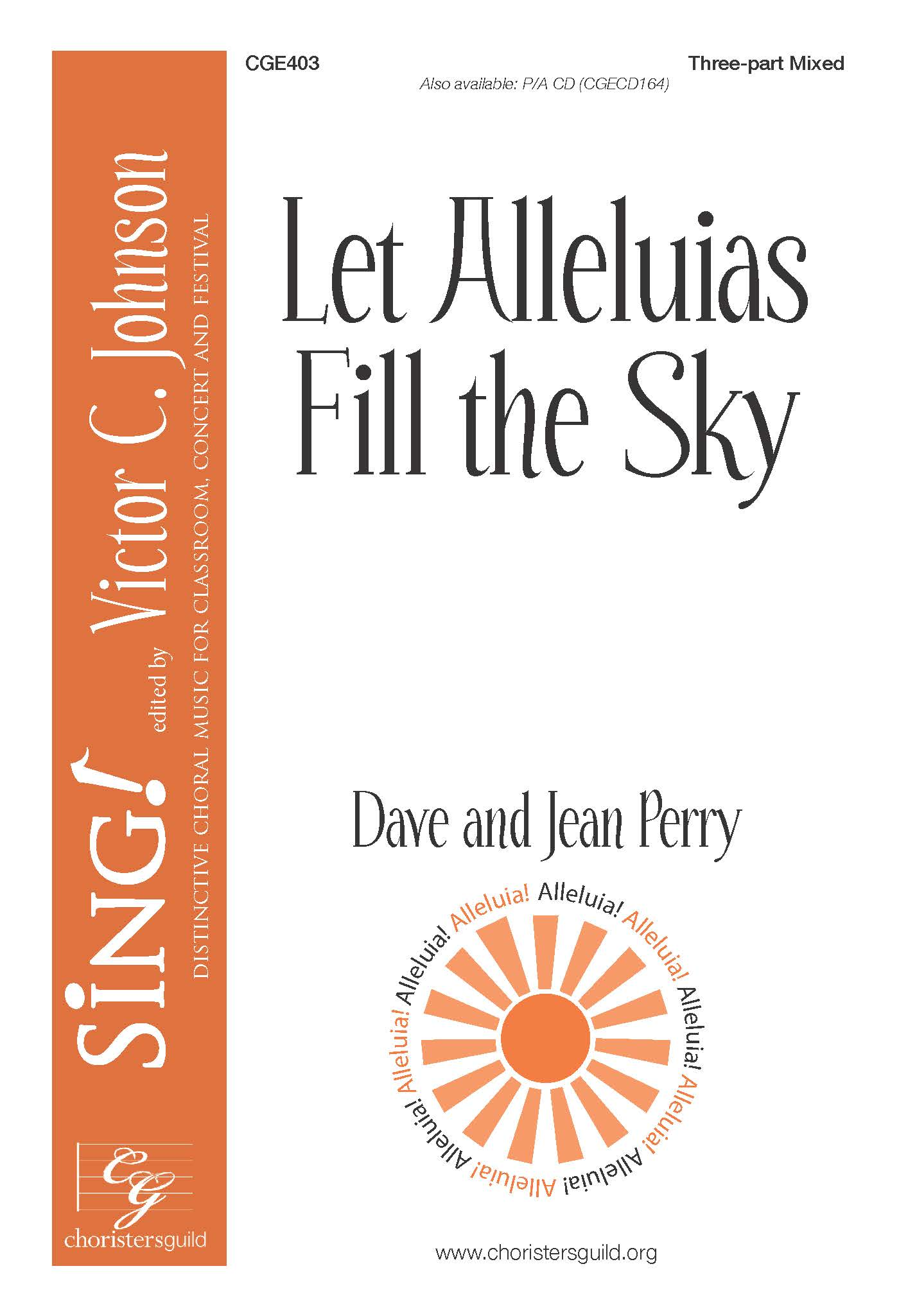 Let Alleluias Fill the Sky - Three-part Mixed