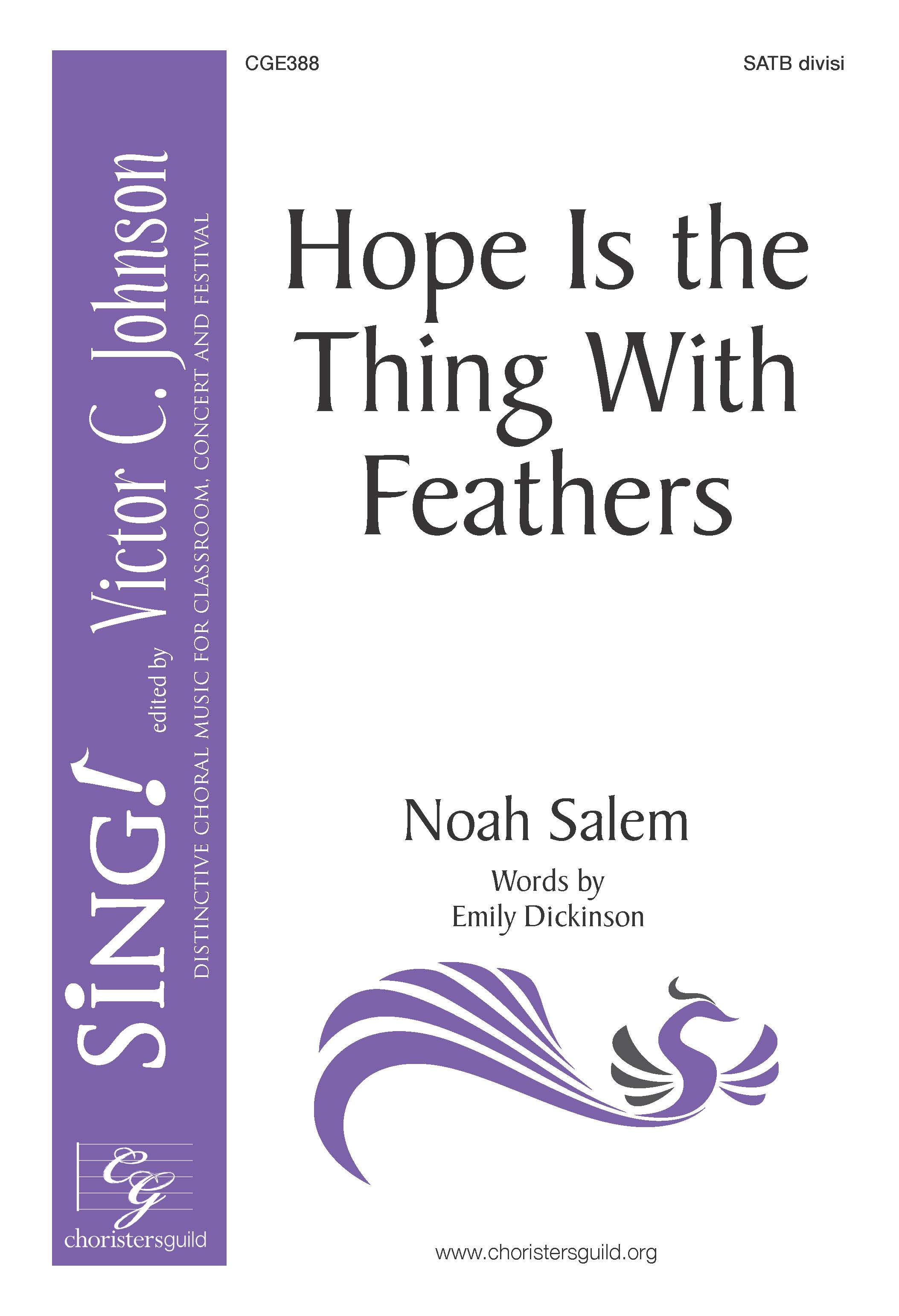 Hope Is the Thing with Feathers - SATB a cappella