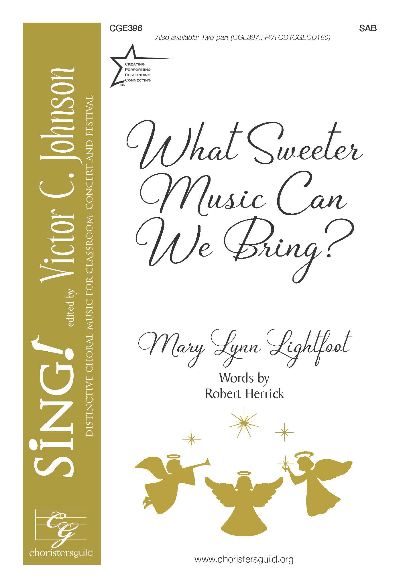 What Sweeter Music Can We Bring? - SAB