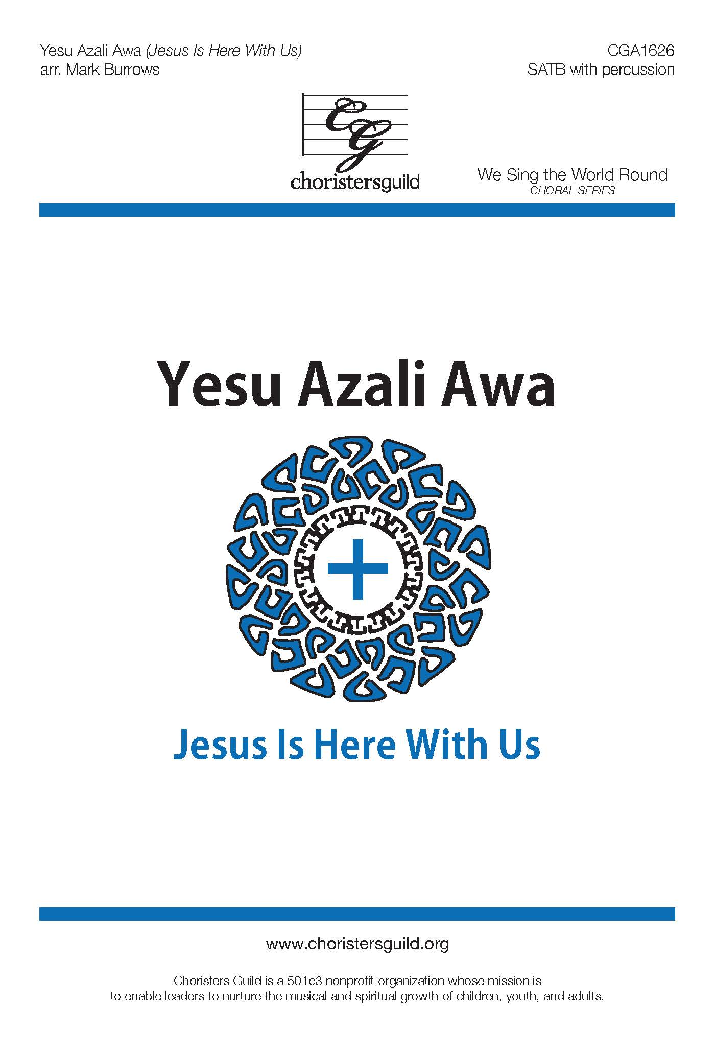 Yesu Azali Awa - SATB with percussion