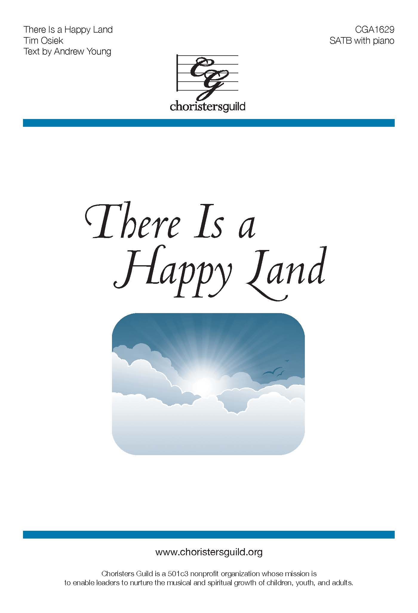There Is a Happy Land - SATB