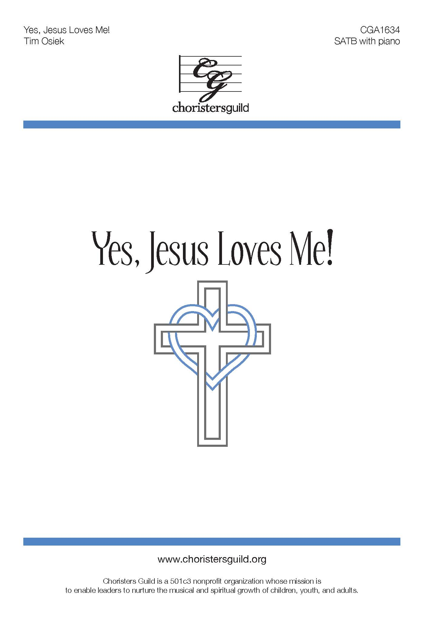 Yes, Jesus Loves Me! - SATB