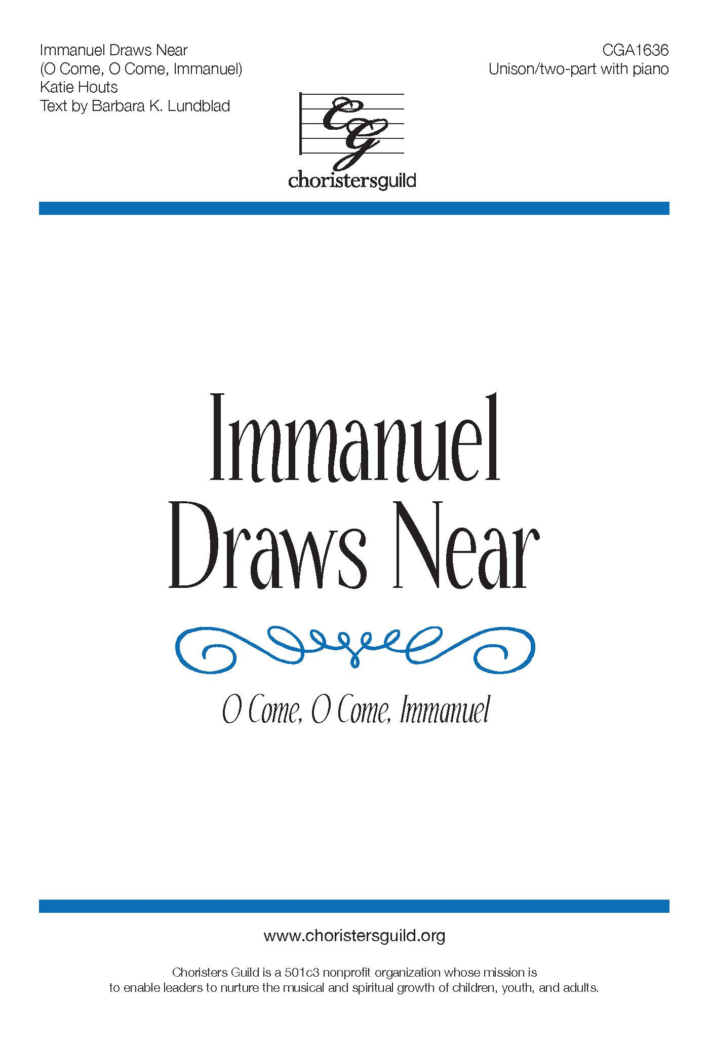 Immanuel Draws Near (O Come, O Come, Immanuel) - Unison/Two-part