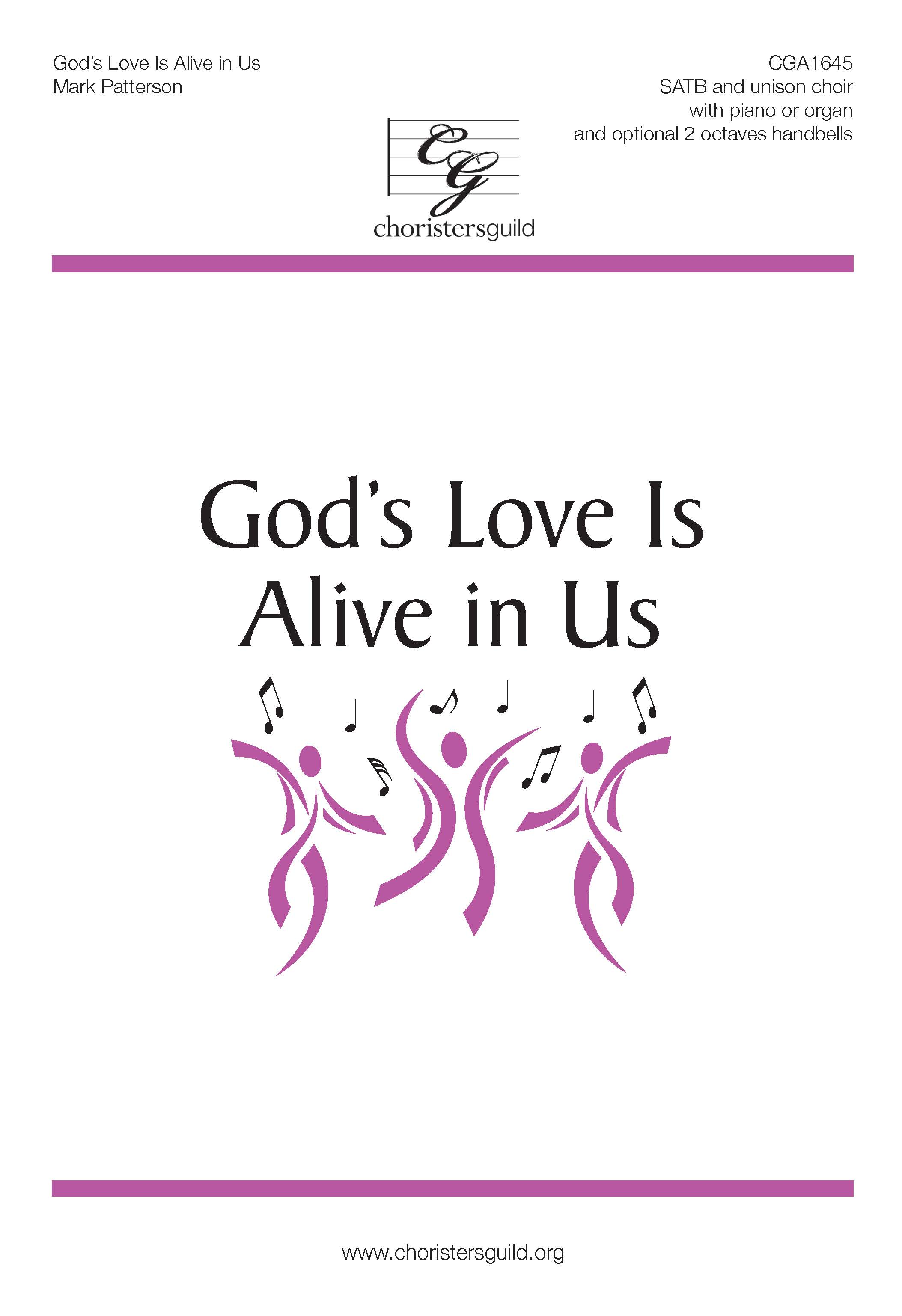 God's Love Is Alive in Us - SATB and unison choir