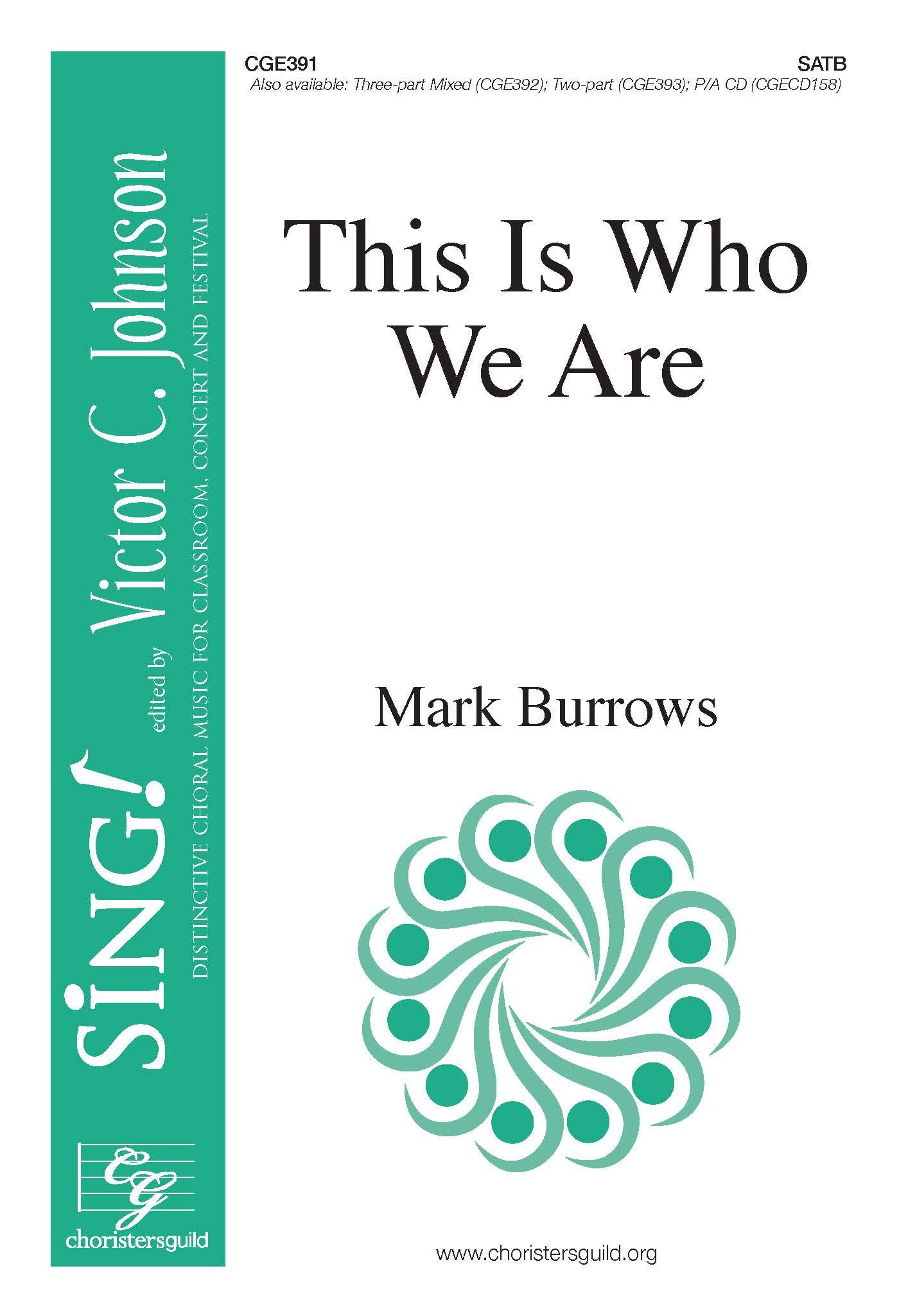This Is Who We Are - SATB with Djembe