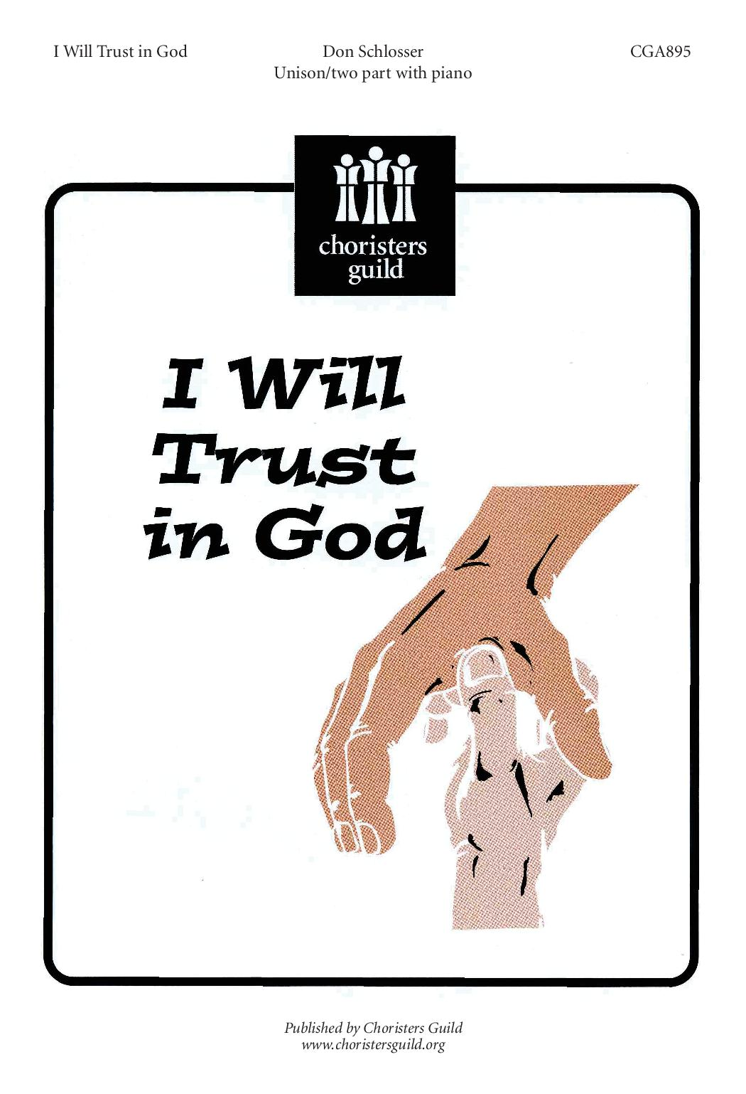 I Will Trust in God
