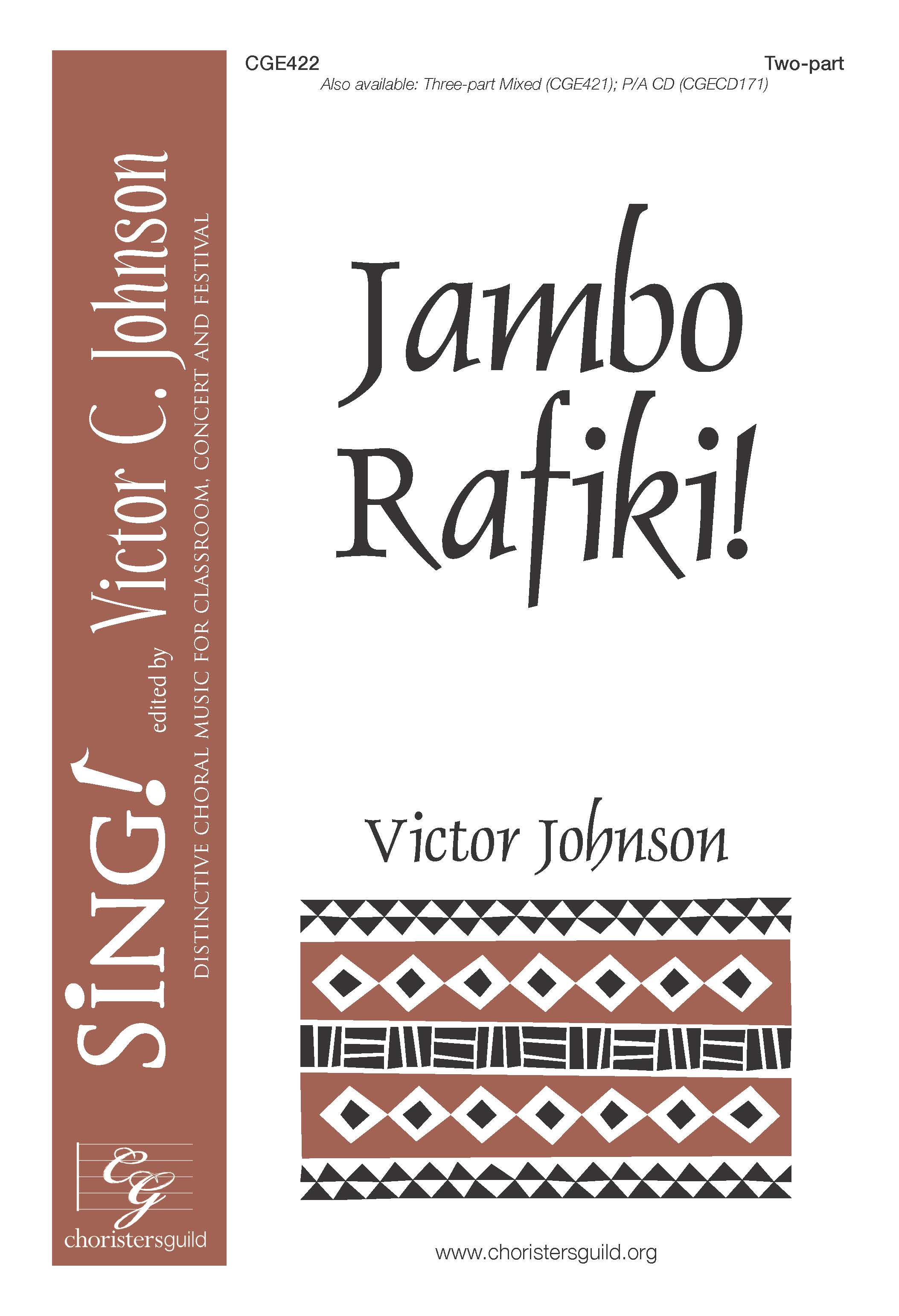 Jambo Rafiki! - Two-part with Percussion