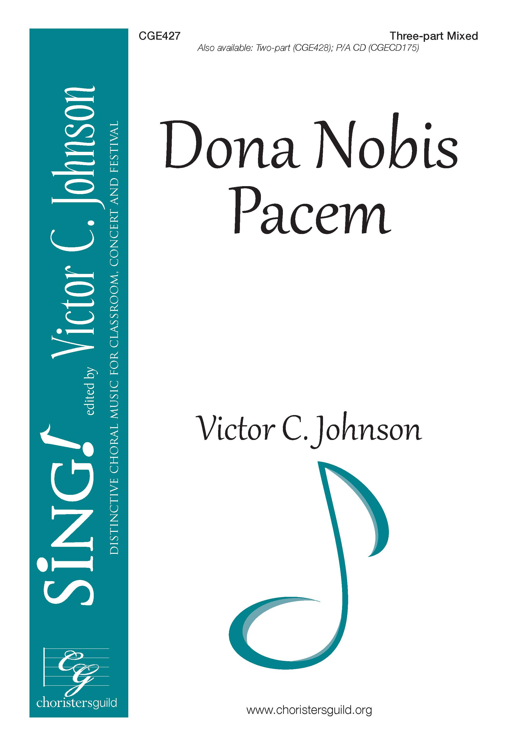 Dona Nobis Pacem - Three-part Mixed