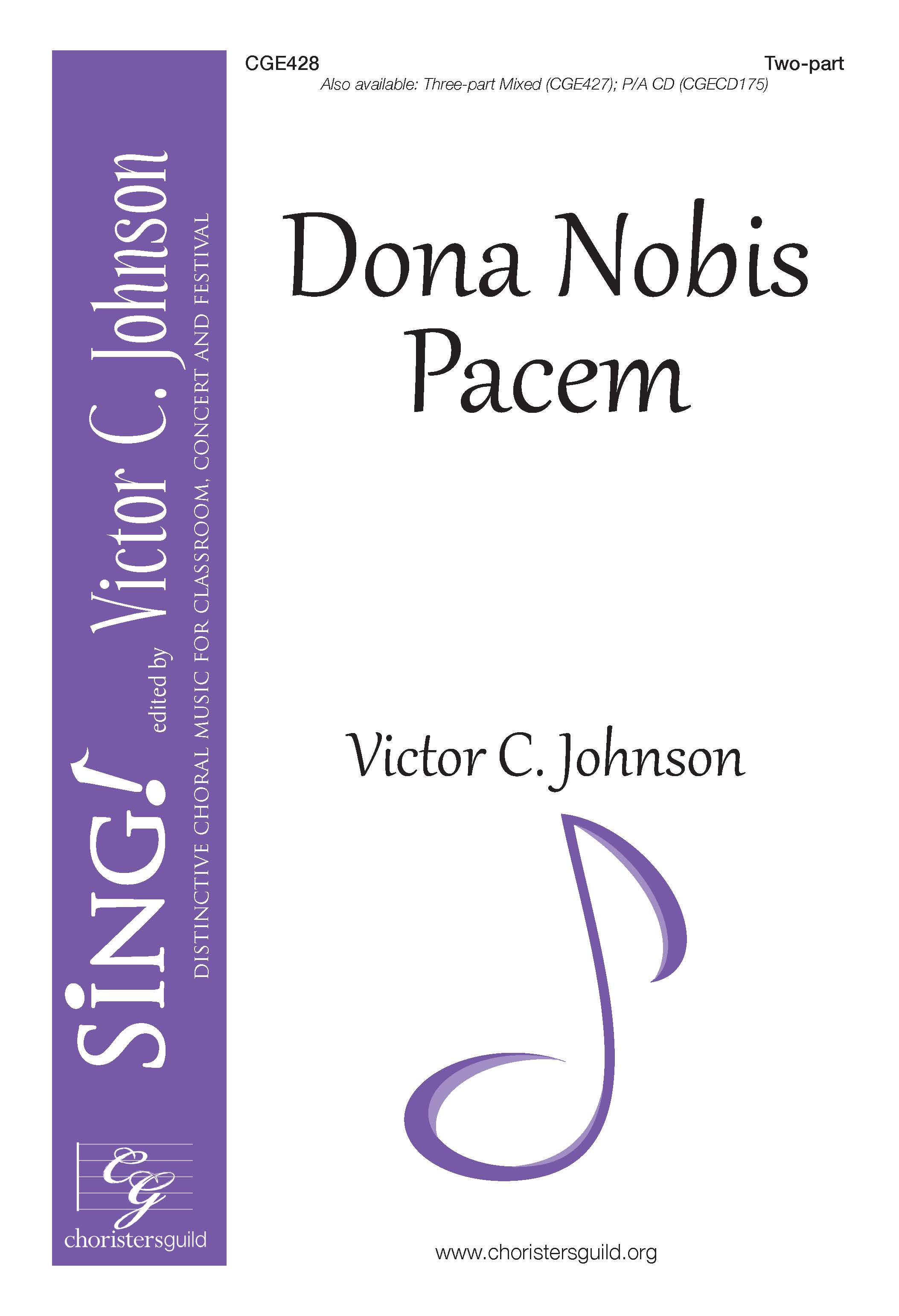 Dona Nobis Pacem - Two-part