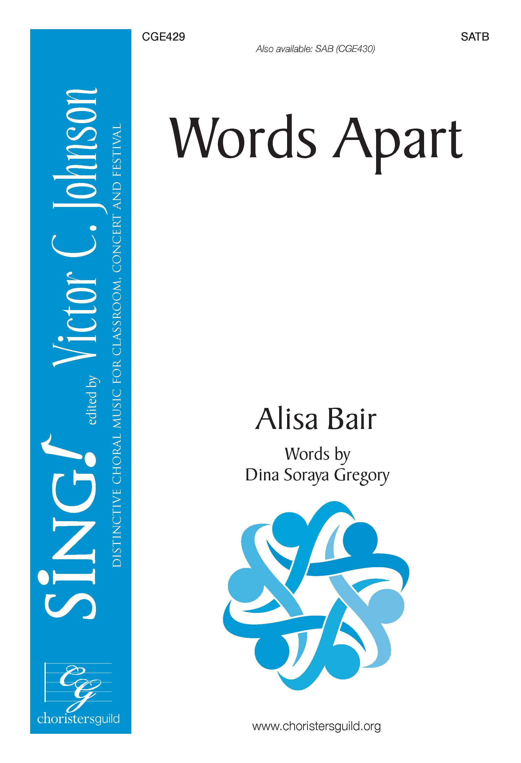 Words Apart - SATB