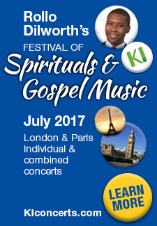 Rollo Dilworth's Festival of Spirituals and Gospel Music