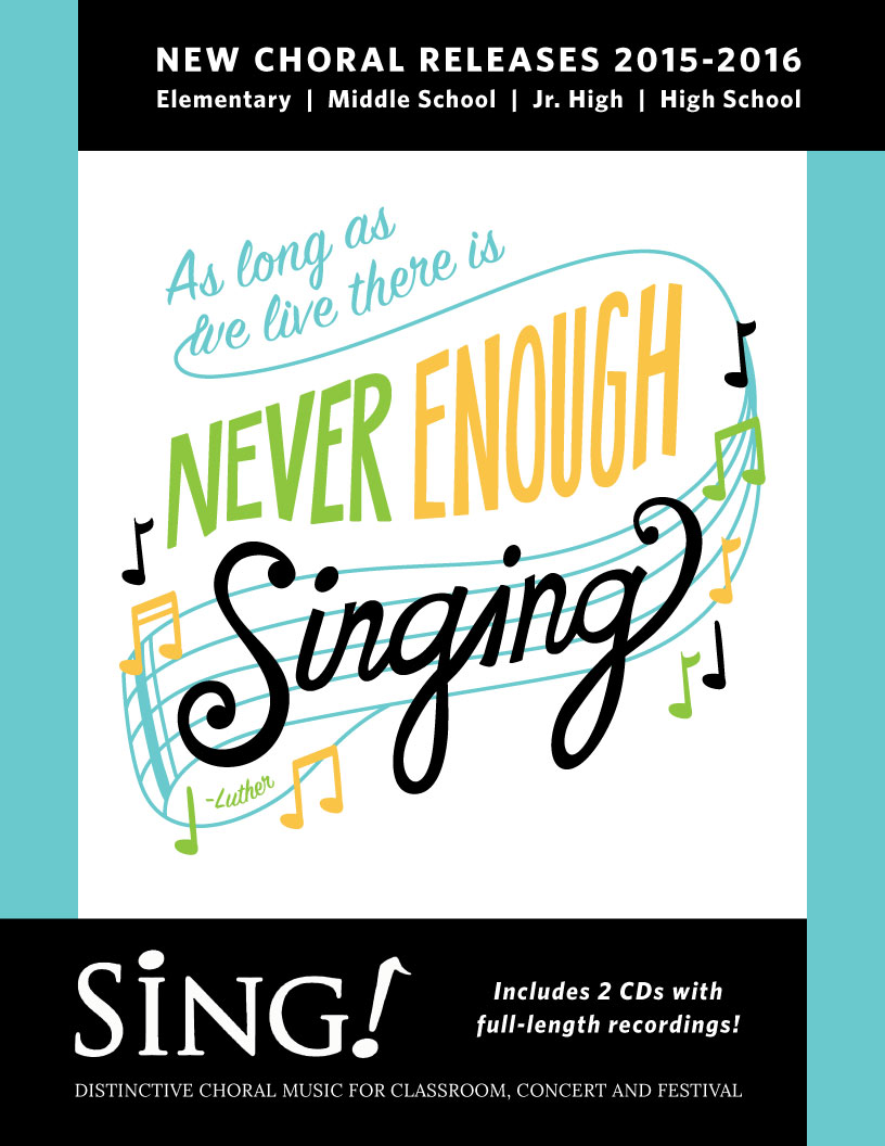 Sing! New Choral Releases 2015-2016