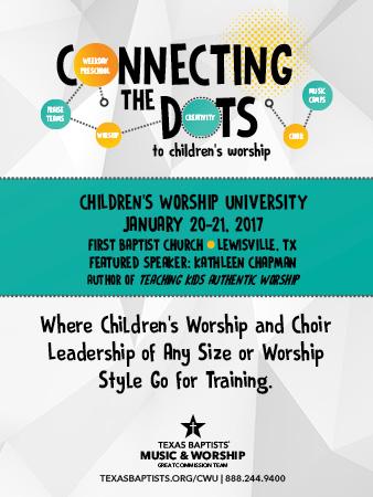 Children's Worship University 2017