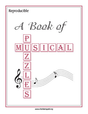 Picture of A Book of Musical Puzzles; Text