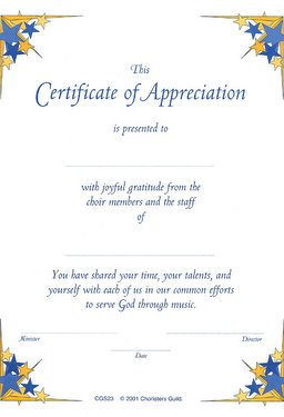 Appreciation To Speakers Sample Certificate Of Pictures