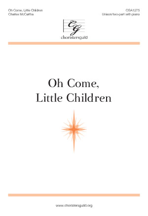 DLA1275 Oh Come, Little Children Audio Download